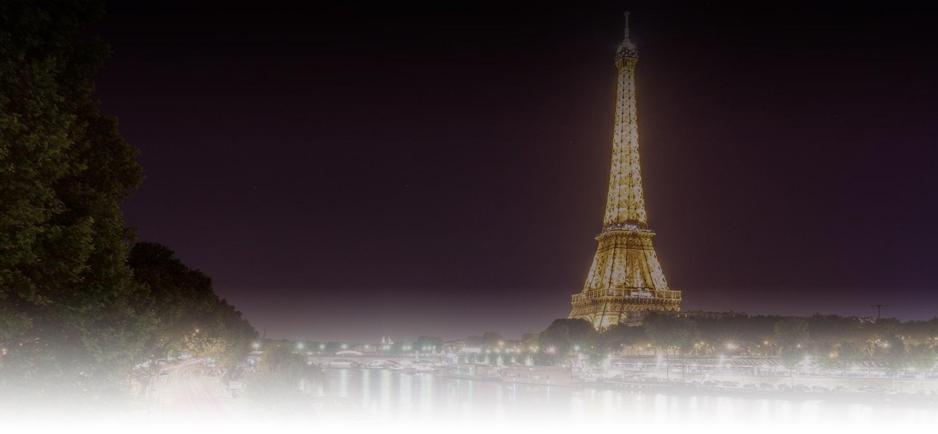 visite de paris la nuit sur Paris